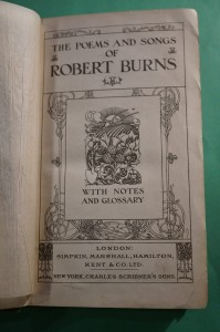 BURNS R.: The poems and songs. ok. 1900.